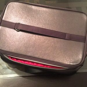 Lancome Dark Color Double Compartment Train Case